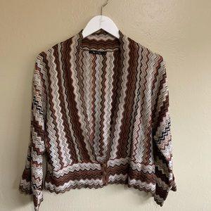 NIC + ZOE knit short sleeve cardigan